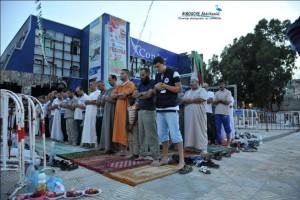 Empêchement du Festival du rire et prière à l'esplanade de la maison de la culture (Bejaia)