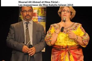 Mouarad Ait Ahmed et Mme Fériel